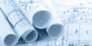 construction design blueprint
